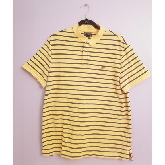 ⬇️Sale! Mens Polo Jeans Company yellow polo shirt